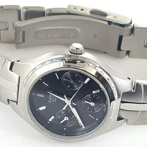 Casio Multi Function Stainless Steel Watch